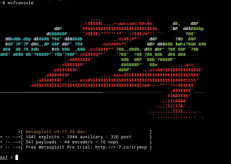 metasploit launch window